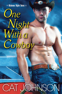 One Night With A Cowboy, Cat Johnson, Cowboy, Military, Romance