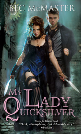 Review My Lady Quicksilver by Bec McMaster